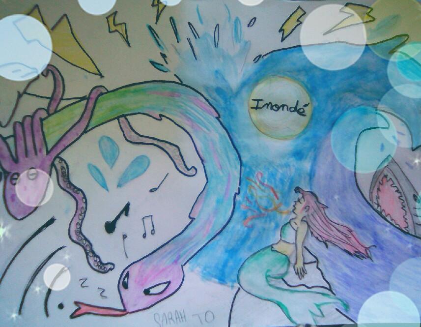 Illustration du projet Inondés par Sarah, Adepte de mangas et parmi les multiples co-réalisatrice des émissions